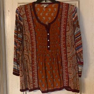 Lucky Brand XL blouse